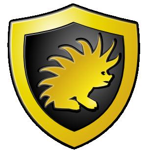 creer un logo bouclier
