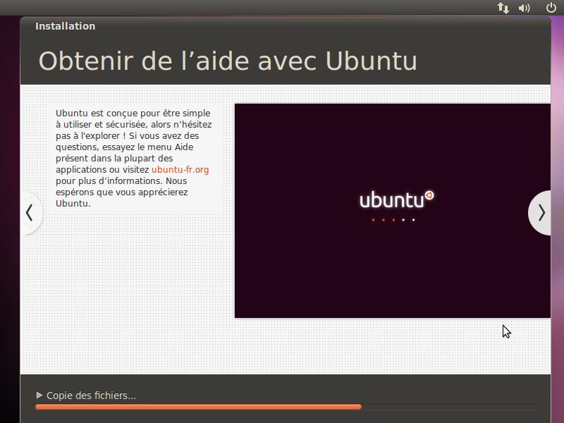 invite commande ubuntu